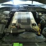 BMW・E38オルタネータ故障・修理